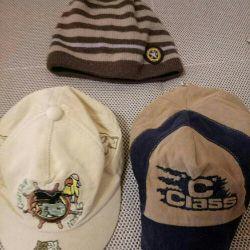 Kapaklar ve şapka