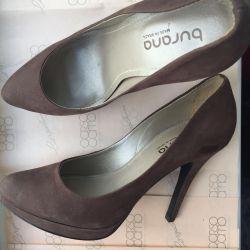 Nubuck shoes Burana 36 rr