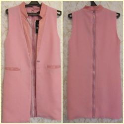 Fashionable women's extended vest CHANEL (new)