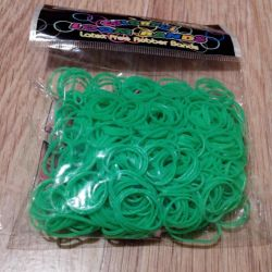 Set for weaving of rubber bands Colorful Loom Band