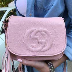 Νέα μαλακή ροζ / τσάντα σκόνης Gucci Gucci