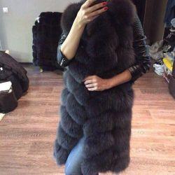 Fur coats and fur vests