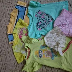 Clothing for girls package.