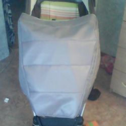 cover on the stroller and car seat