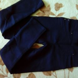 Pants warm condition of new