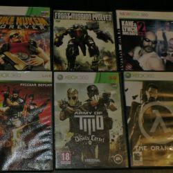Xbox 360 games (over 20 pcs.)