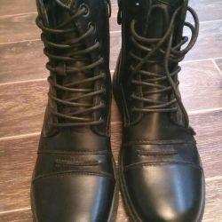 Νέες μπότες ανδρών μπότες χειμώνα