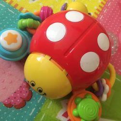Interactive ladybug