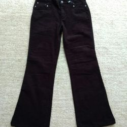Corduroy jeans
