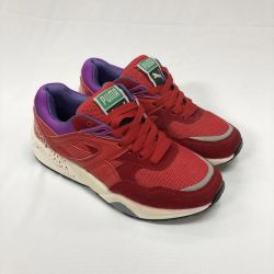 Кроссовки Puma тримикс красные