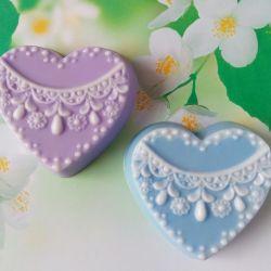 Handmade soap Tender heart