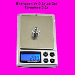 Микро весы ювелирные от 0.1г до 1кг