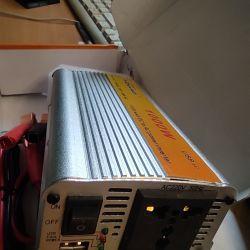 12v'den KonnWei 1000W voltaj dönüştürücü