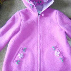 Natural wool jacket