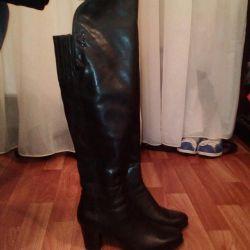 Μπότες n Ευρωσύμ. δέρμα και πόδι
