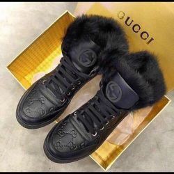 Χειμερινές μπότες Gucci (36)