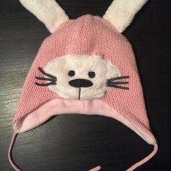 Καπέλο χειμωνιάτικου κοριτσιού