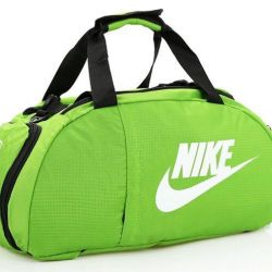 Sports backpack backpack Nike, salad 🥗