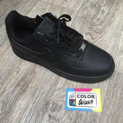 Nike Air Force 1 μαύρα αθλητικά παπούτσια