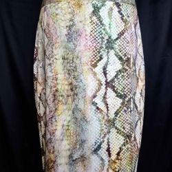 Φούστα φίδι εκτύπωση