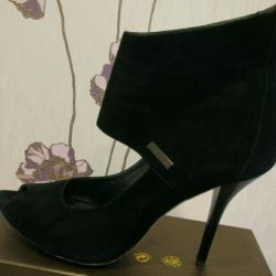 Ankle boots. Suede