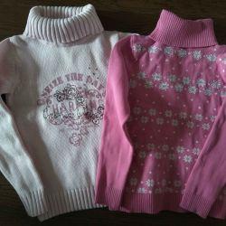 pachet pentru 4 pulovere pentru 128