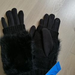 Gloves touch winter