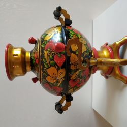 Samovar electric hohloma of the USSR
