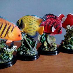 Deniz balıkları hatıra koleksiyonu