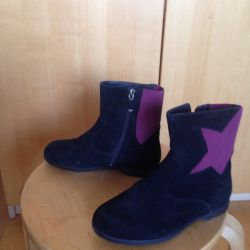 Boots for girls suede