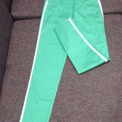 Çizgili yeni pantolon