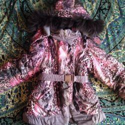 Μπουφάν χειμώνα για το κορίτσι