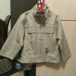 Ветровка детская 110р. демисезон куртка