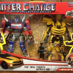 Optimus Prime and Bumblebee 2 in 1