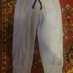Knitted gray breeches new