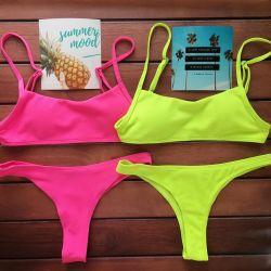 Juicy neon swimwear