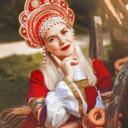 Russian folk costume