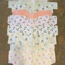 Baby's undershirts from 0 to 5 months