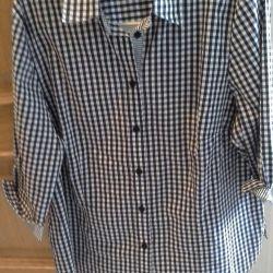 Women's shirt, cotton, size L, excellent condition