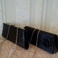 Bag-Clutch, kadınlar için bir hediye.