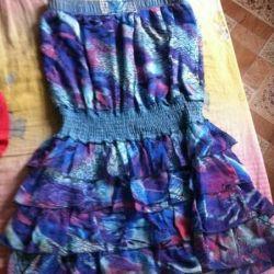 Φόρεμα με γιλέκο