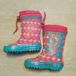 Lastik çizmeler Güneş ve yağmur
