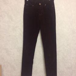 Trousers for women velor for winter