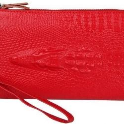 New in pack. Wallet - genuine leather clutch