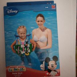 Vest for swimming for 3-6 years Mickey Mouse