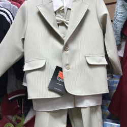 New suit for the boy r. 98-104