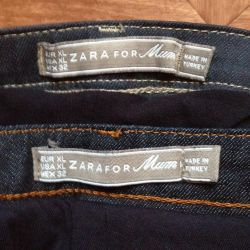 Jeans for future mothers (2 pairs)