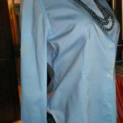 Blue blouse shirt p. 50