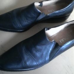 Shoes 41R. (Leather, Italy)