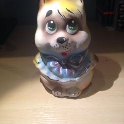 Piggy bank in the form of a squirrel